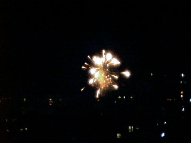 甲突川の花火